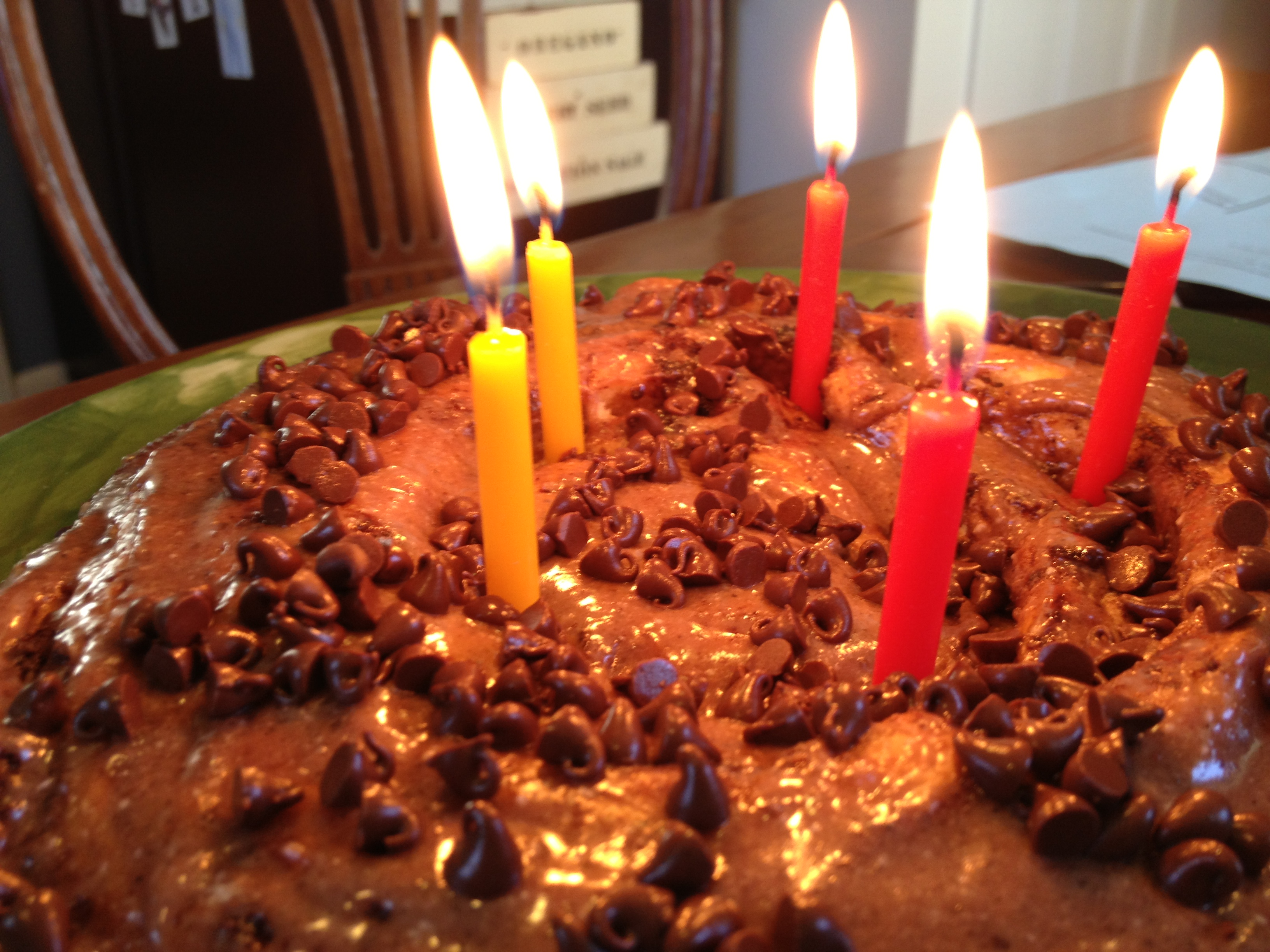 Emergency Birthday Cake Chocolate Rolls Goodies Yum X