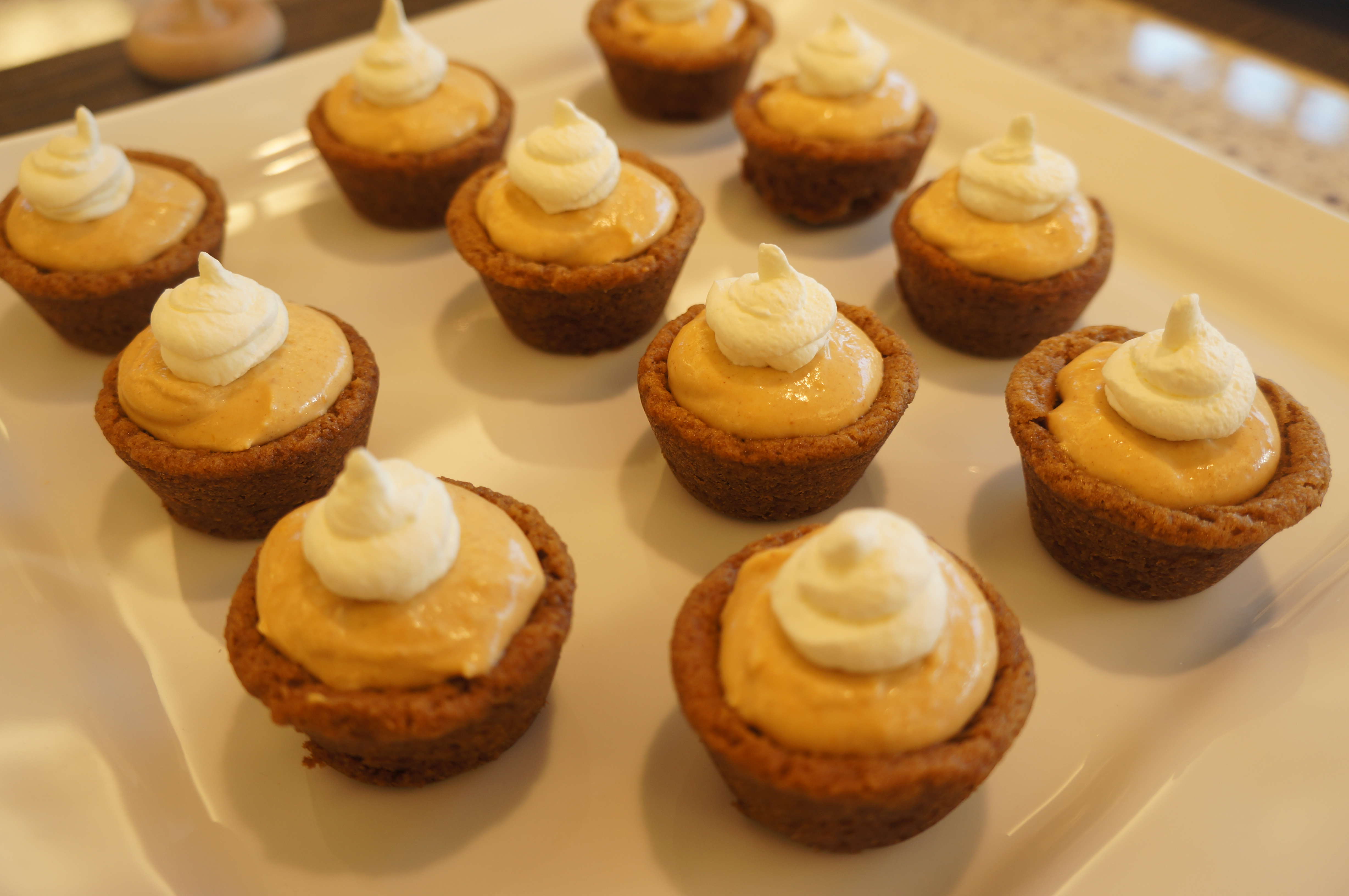 mini pumpkin cheesecakes mini pumpkin whoopie pies mini pumpkin tarts ...