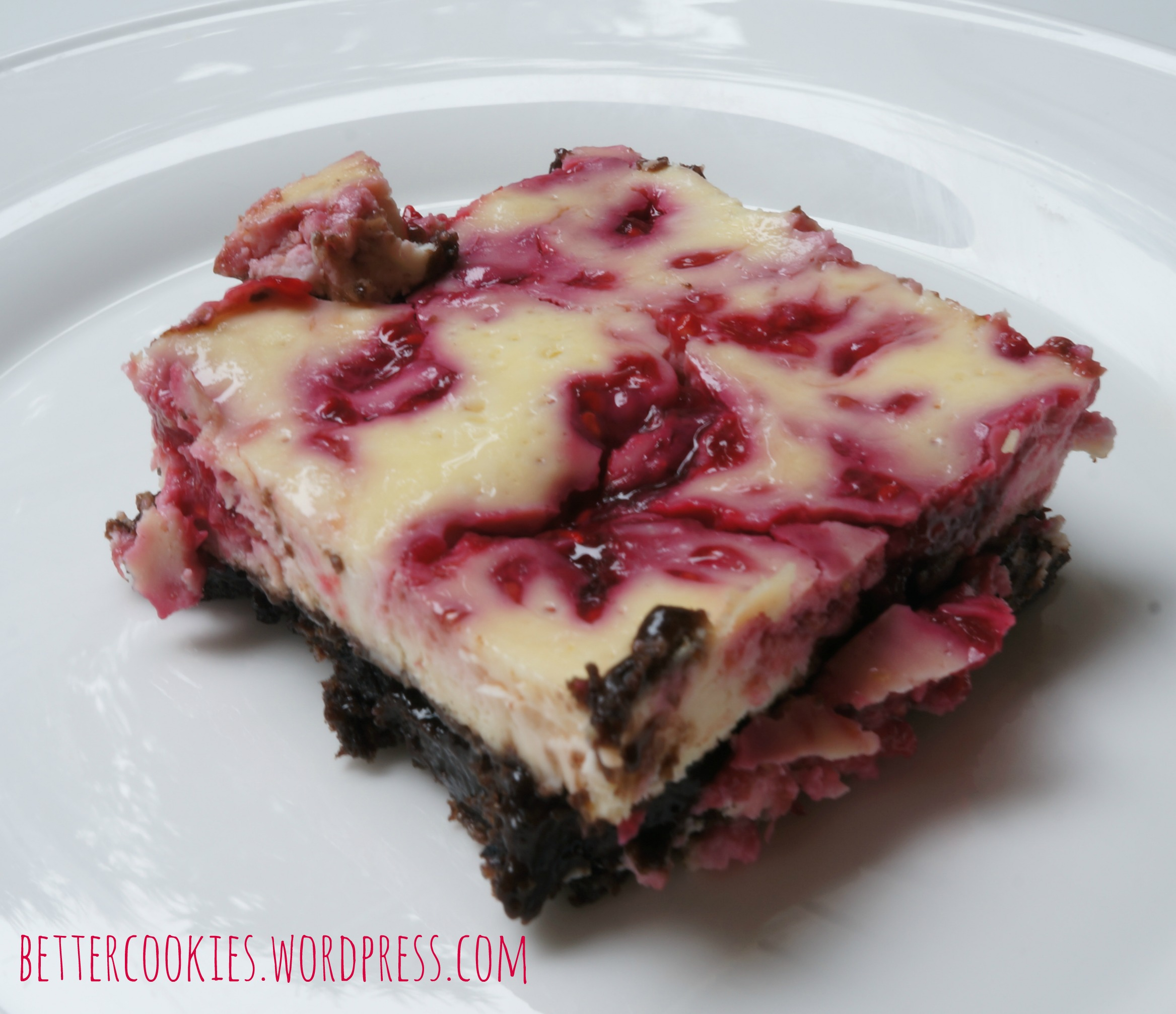 Gluten Free Raspberry Cheesecake Brownie Bar | Goodies & Yum x ...