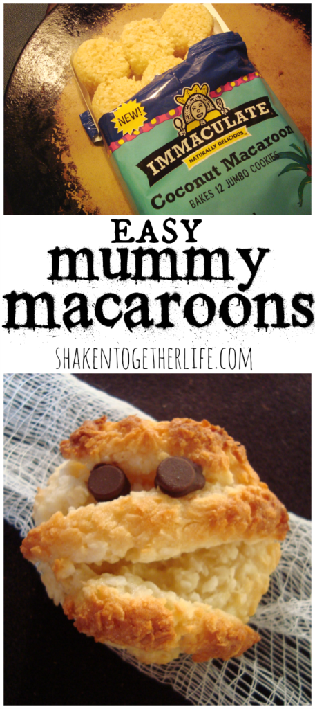 mummy macaroon