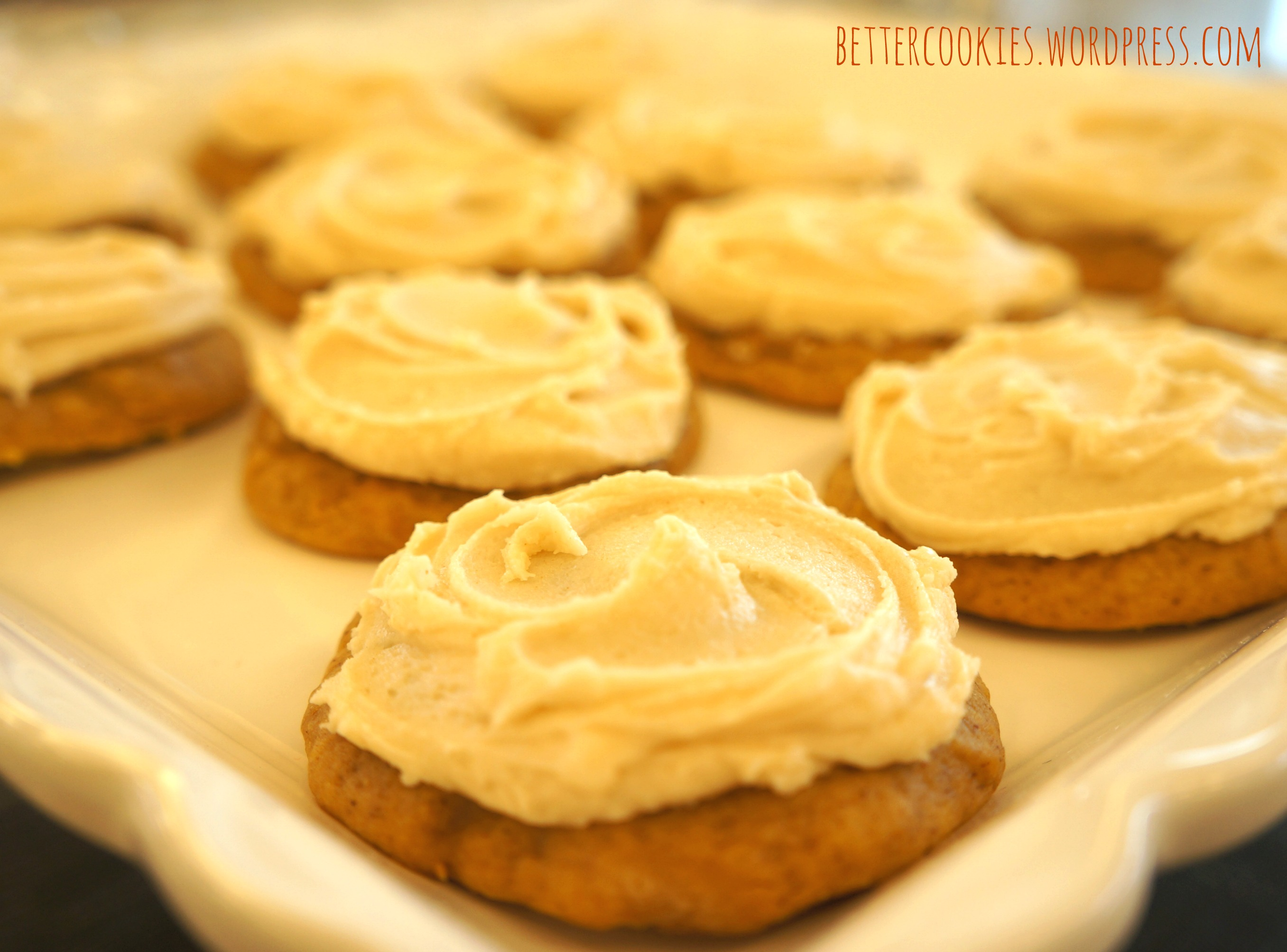 Easy Pumpkin Spice Cookies with Browned Butter Frosting | Goodies ...
