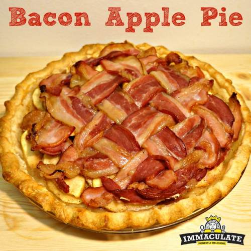 Bacon Apple Pie | Goodies & Yum x Immaculate Baking