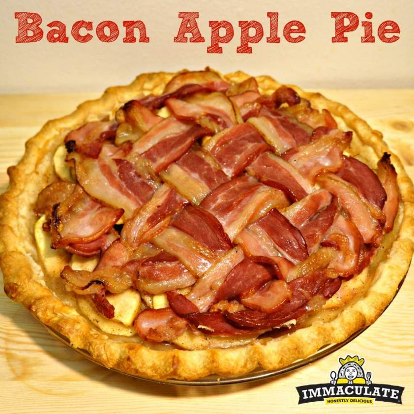 bacon apple pie