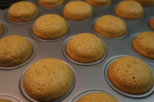 Mini Gingerbread Cupcakes with Cinnamon Cream Cheese ...