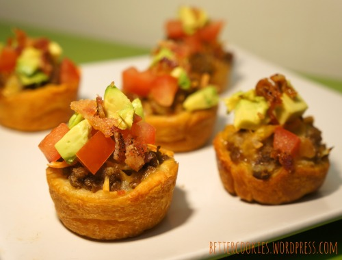 Bacon Cheeseburger Cups