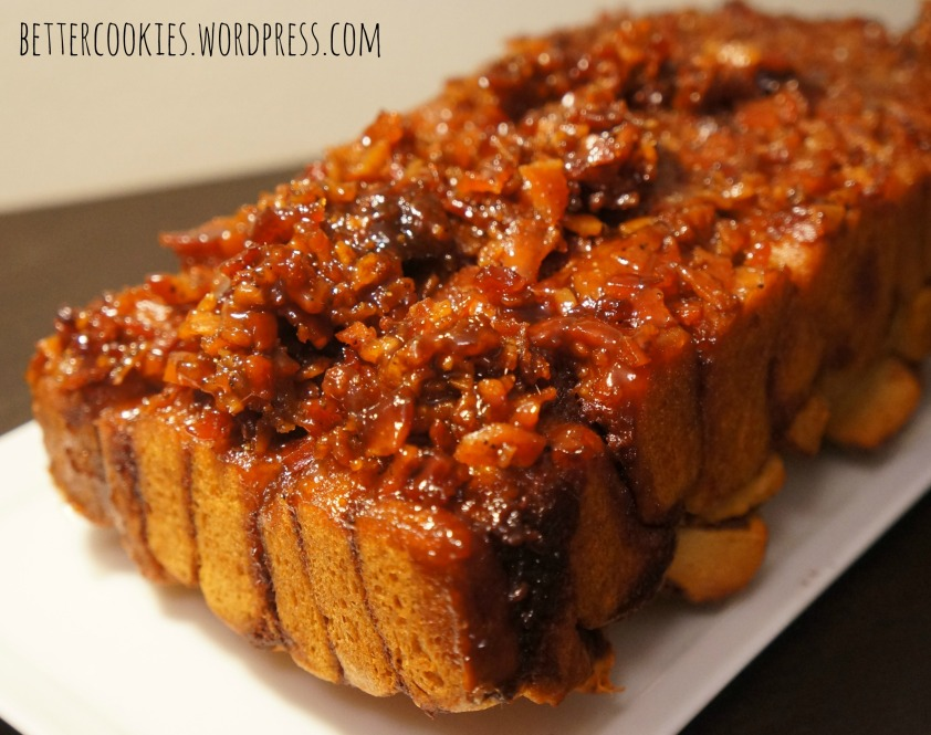 Maple Bacon Cinnamon Monkey Bread