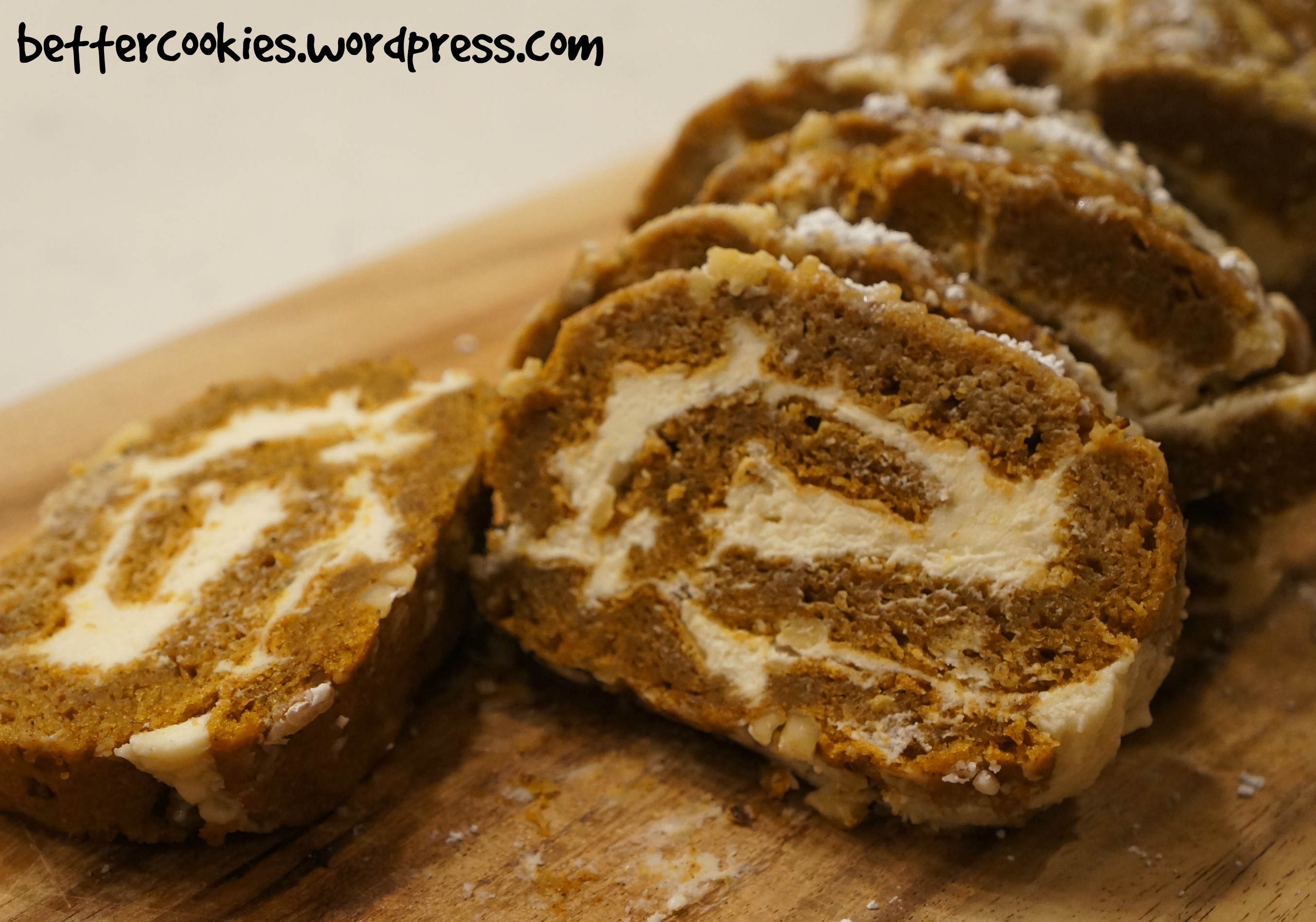 ll admit that my very first pumpkin roll did