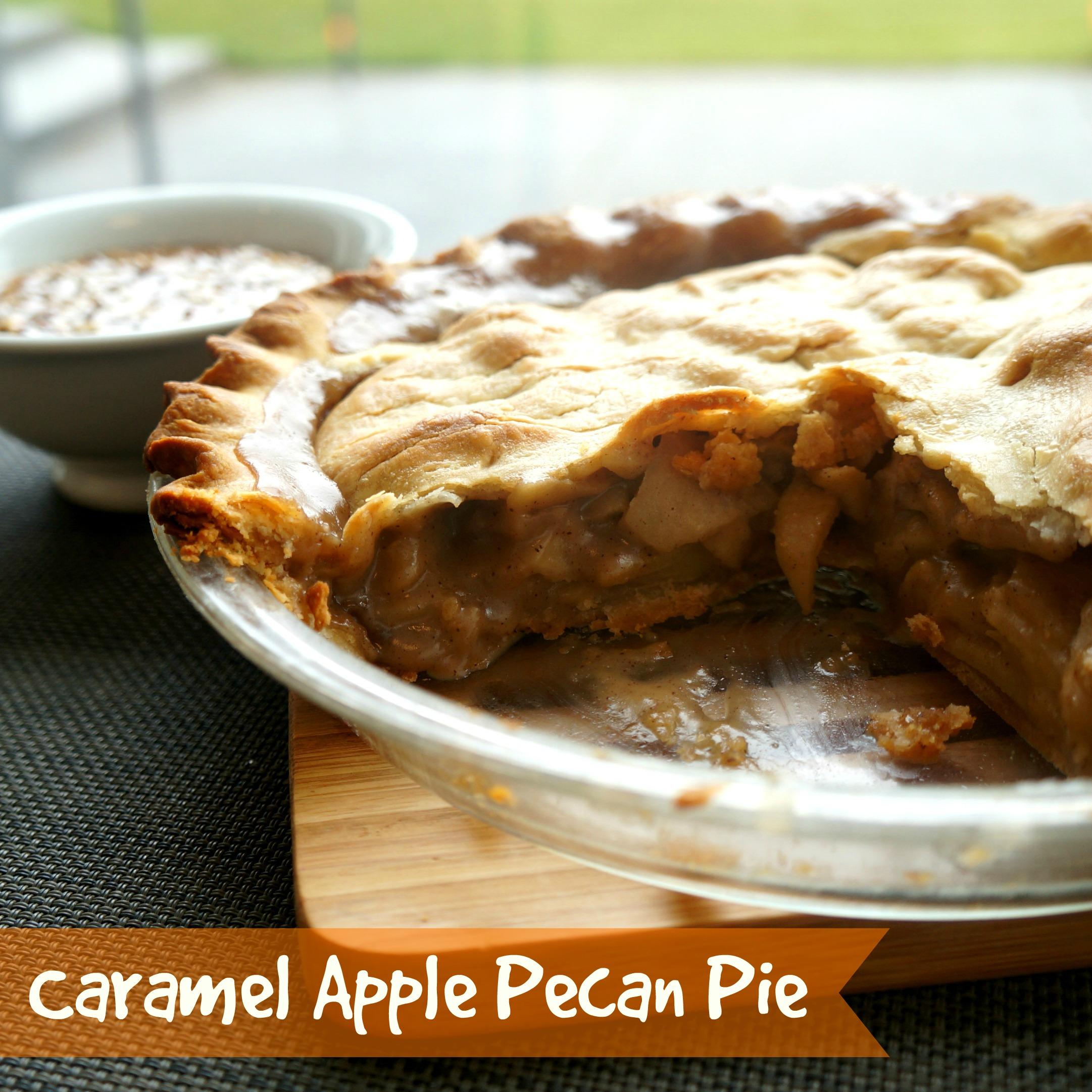 Caramel Apple Pecan Pie | Goodies & Yum x Immaculate Baking
