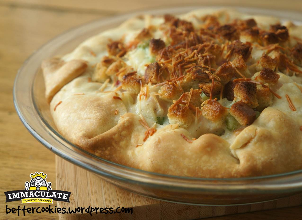 Rustic Turkey And Vegetable Pie Recipe — Dishmaps