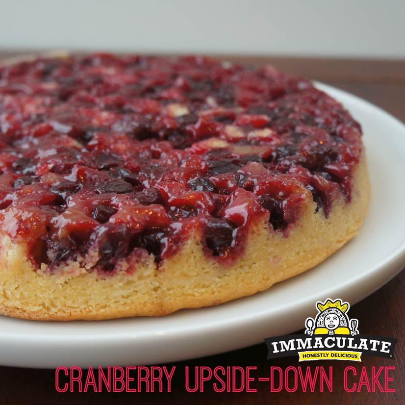 Cranberry Upside-Down Cake Recipe — Dishmaps