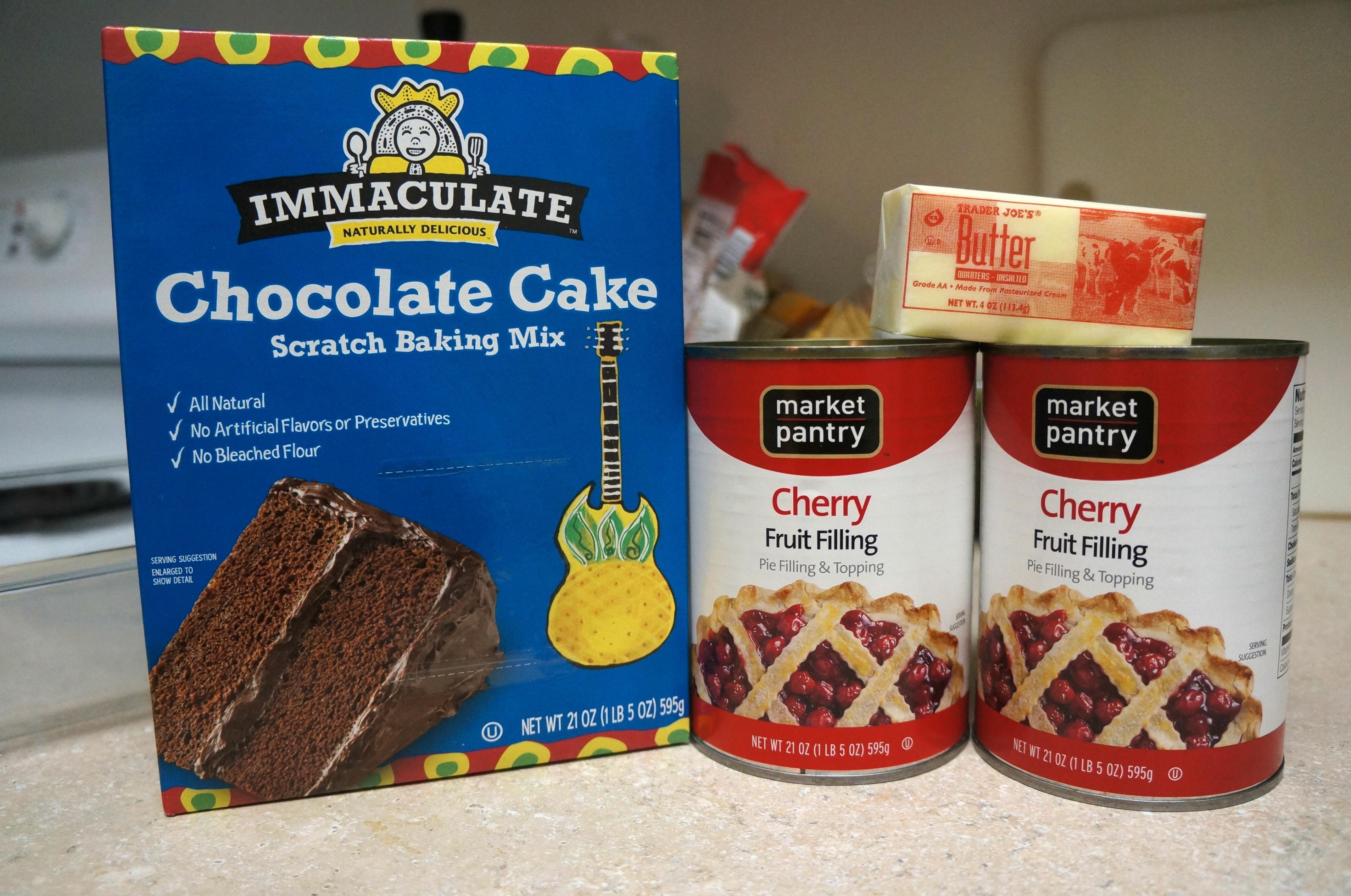 Chocolate Cherry Dump Cake – Goodies & Yum x Immaculate Baking